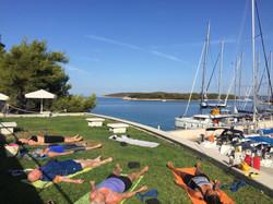 Daily yoga spots