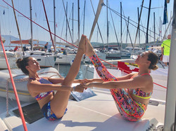 Yoga Sailing in Croatia