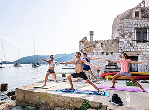 Yoga Sailing Holidays Croatia