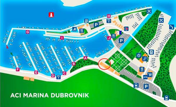 Marina - ACI Dubrovnik DYC