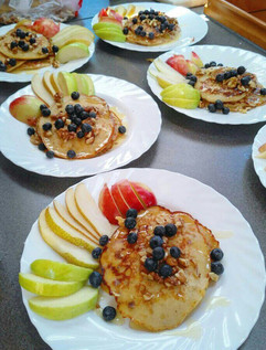 Morning pancakes and honey.jpg