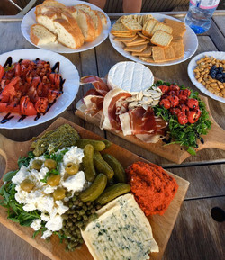 Snack plate and nibbles