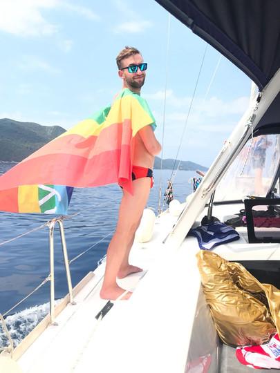 Rainbow Sailing