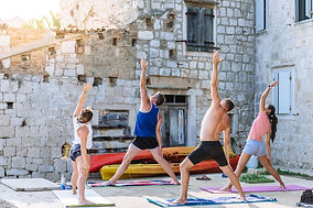 Yoga sailing sessions
