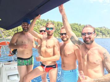 Gays on tour