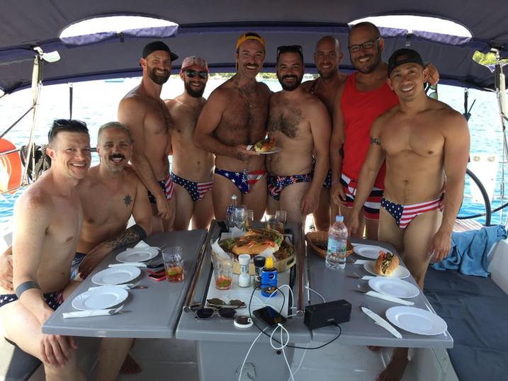 gay sailing holidays