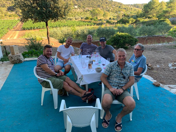gay sailing wine tour