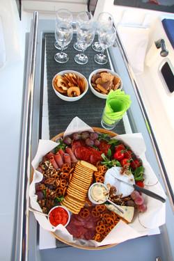 Welcome meze platter
