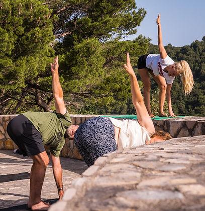 yoga sailing holidays