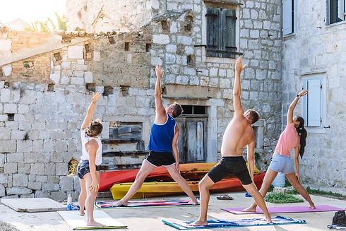 Yoga seesions