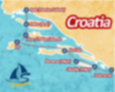 Yoga Sailing Croatia Itinerary
