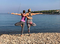 Yoga Sailing Moments