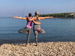 Yoga Sailing Moments
