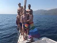 Gay sail goodbye