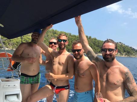 Gay Sailing in Mykonos