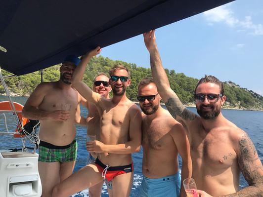 gay island hopping in croatia