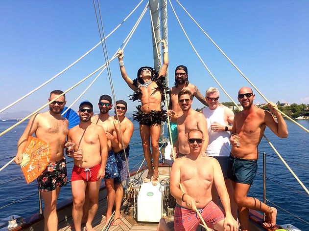 Pride Sailing in Greece