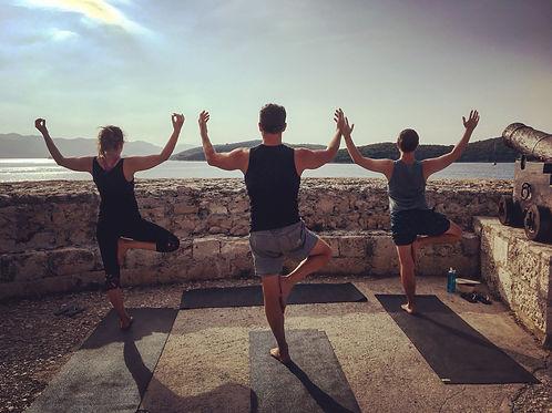 Yoga Sailing in Greece