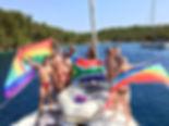 Pride Sailing Celebration