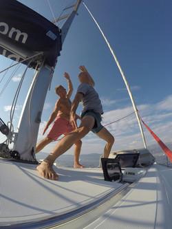 Yoga Sailing Activities