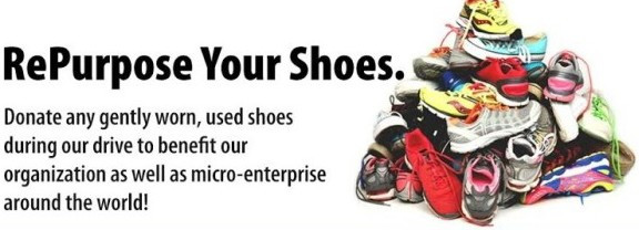 Shoe Drive!! Help us Raise Funds for a Down Payment for Our First Home Nov 1st - Jan 31st