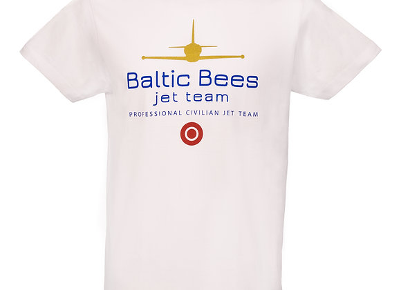 UNISEX T-SHIRT WITH BALTIC BEES GOLDEN L-39 LOGO