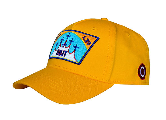 PATCH BASEBALL CAP (YELLOW)