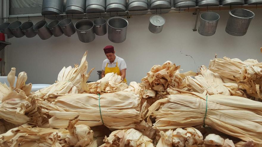 Hilda Sifuentes cocinera mexicana creadora de Los Tamalitos de Balbuena.