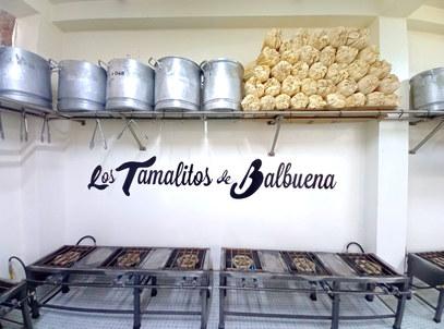 La pasión de un buen tamal en Los Tamalitos de Balbuena.