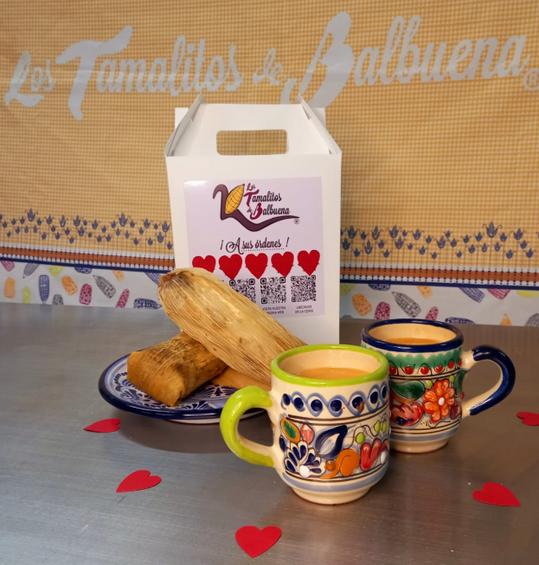 Con mucho amor Los Tamalitos de Balbuena le ofrece tamales y atoles de primera calidad.