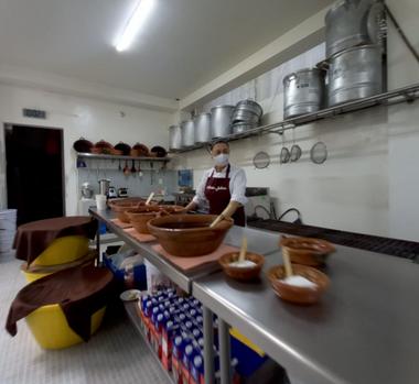 En el taller de Los Tamalitos de Balbuena procuramos tener todo limpio, ordenado y listo siempre.