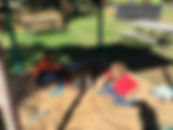 Kids in sand box