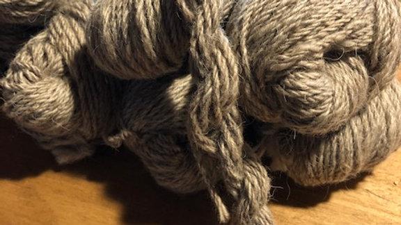 Mocha 3-ply Icelandic Wool Yarn