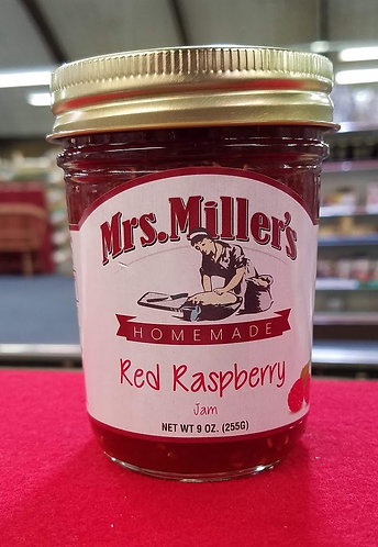 Red Raspberry Jam - 9 oz