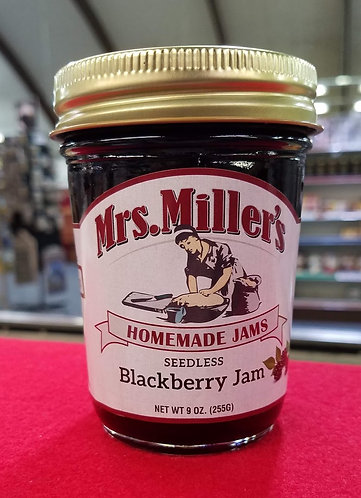 Seedless Blackberry Jam - 9 oz