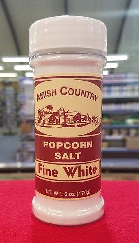 Popcorn Salt - White - 6 oz