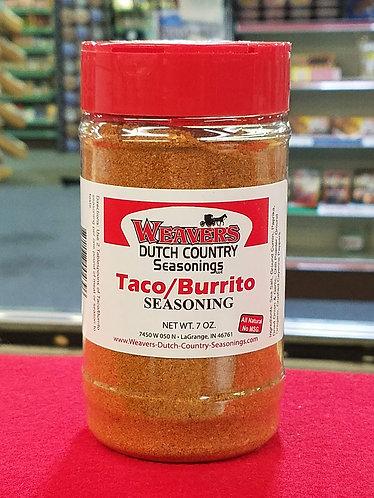 Taco/Burrito Seasoning - 7 oz