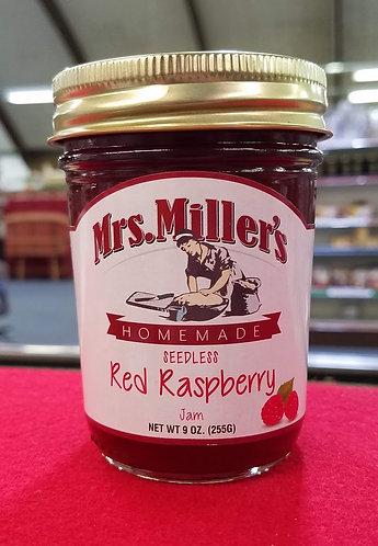 Seedless Red Raspberry Jam - 9 oz