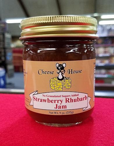Sugar Free Strawberry Rhubarb Jam - 9 oz