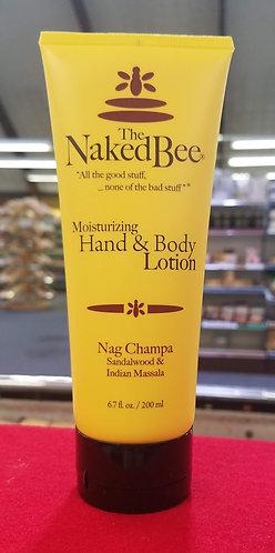 Nag Champa (Sandalwood) Lotion - 6.7 oz