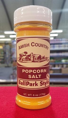 Popcorn Salt (Butter) - Yellow - 6 oz