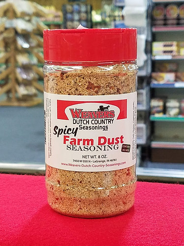 Farm Dust (Spicy) - 8 oz