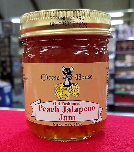 Peach Jalapeno Jam - 9 oz