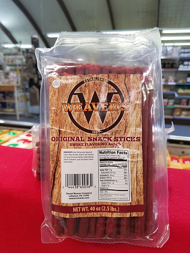 Original Beef Sticks - 2.5 Pound