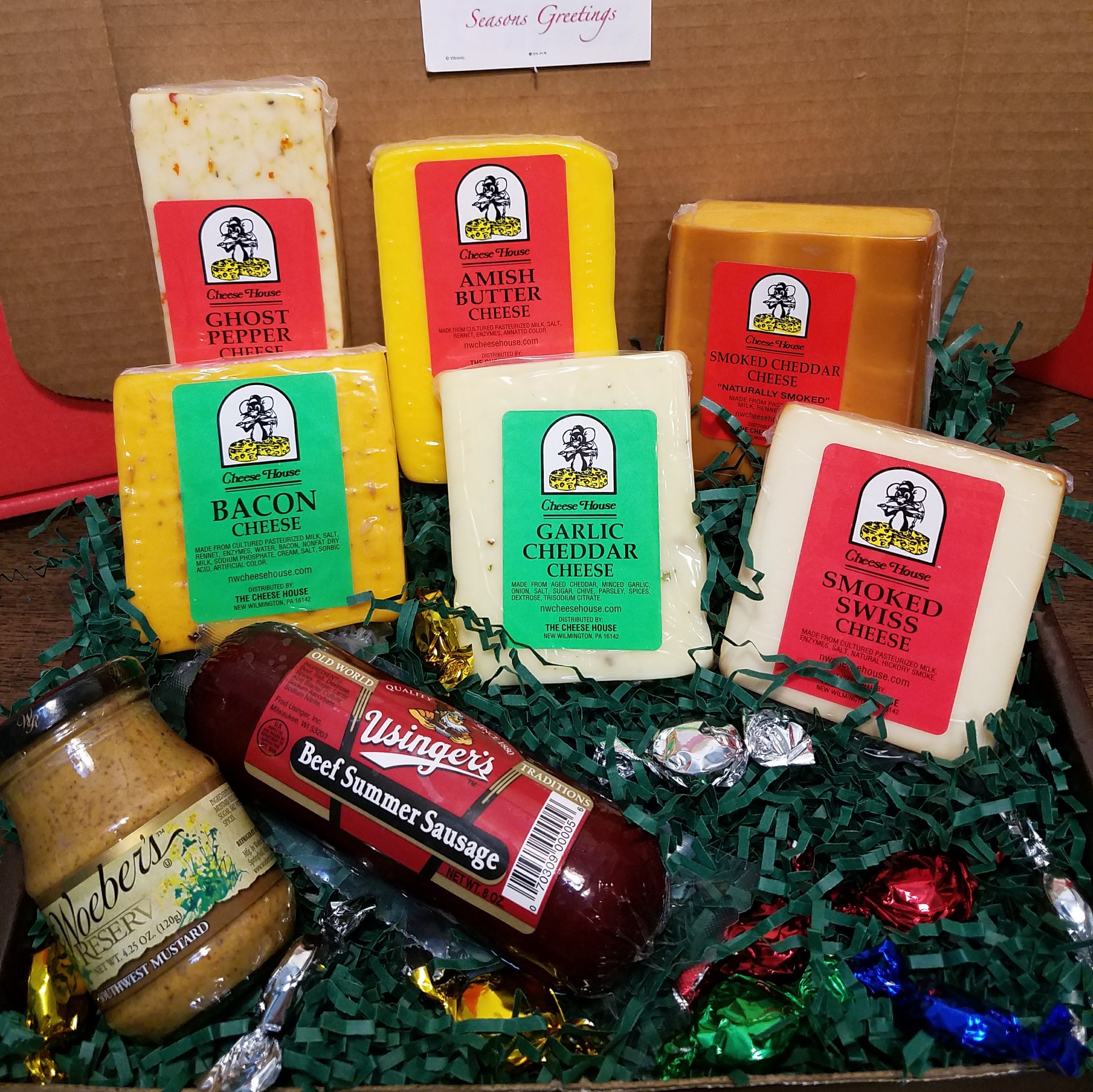 Free Shipping Box 10 | The Cheese House