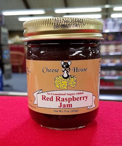 Sugar Free Red Raspberry Jam - 9 oz