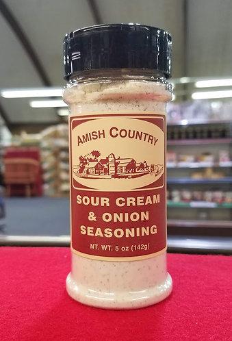 Sour Cream and Onion Seasoning Shaker - 5 oz