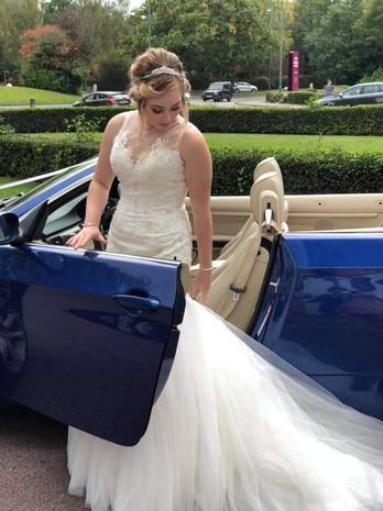 beautiful natural bride