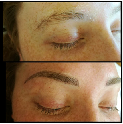 eyebrows by Divine Arch
