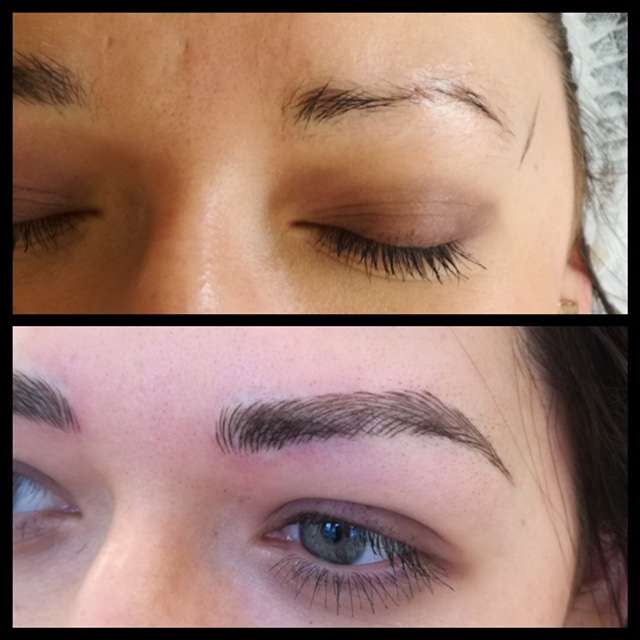 semi-perm brows